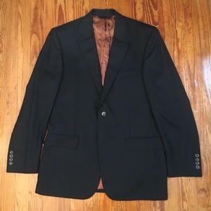 Joseph A Bank black blazer sport coat 40L